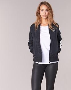 Kleidung Damen Jacken Emporio Armani EA7 TRAIN MASTER Schwarz