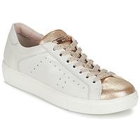 Schuhe Damen Sneaker Low Tosca Blu  Weiss / Gold