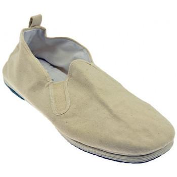 Schuhe Herren Slipper De Fonseca Lungamarcia mokassin halbschuhe Beige