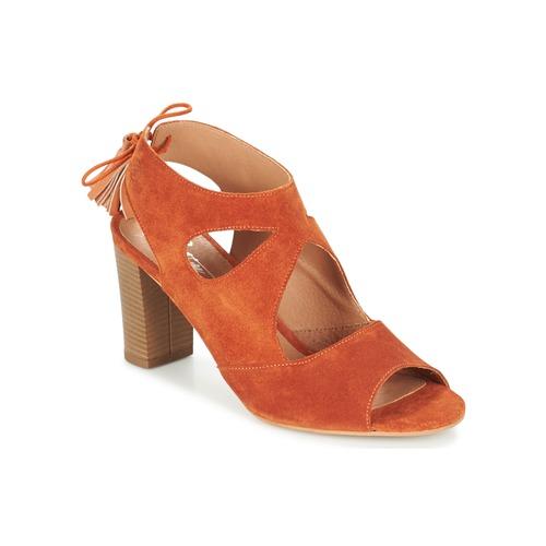 Betty London GARMER Orange  Schuhe Sandalen / Sandaletten Damen 67,99