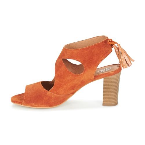 Betty London GARMER Orange    Schuhe Sandalen   Sandaletten Damen 6e1d88