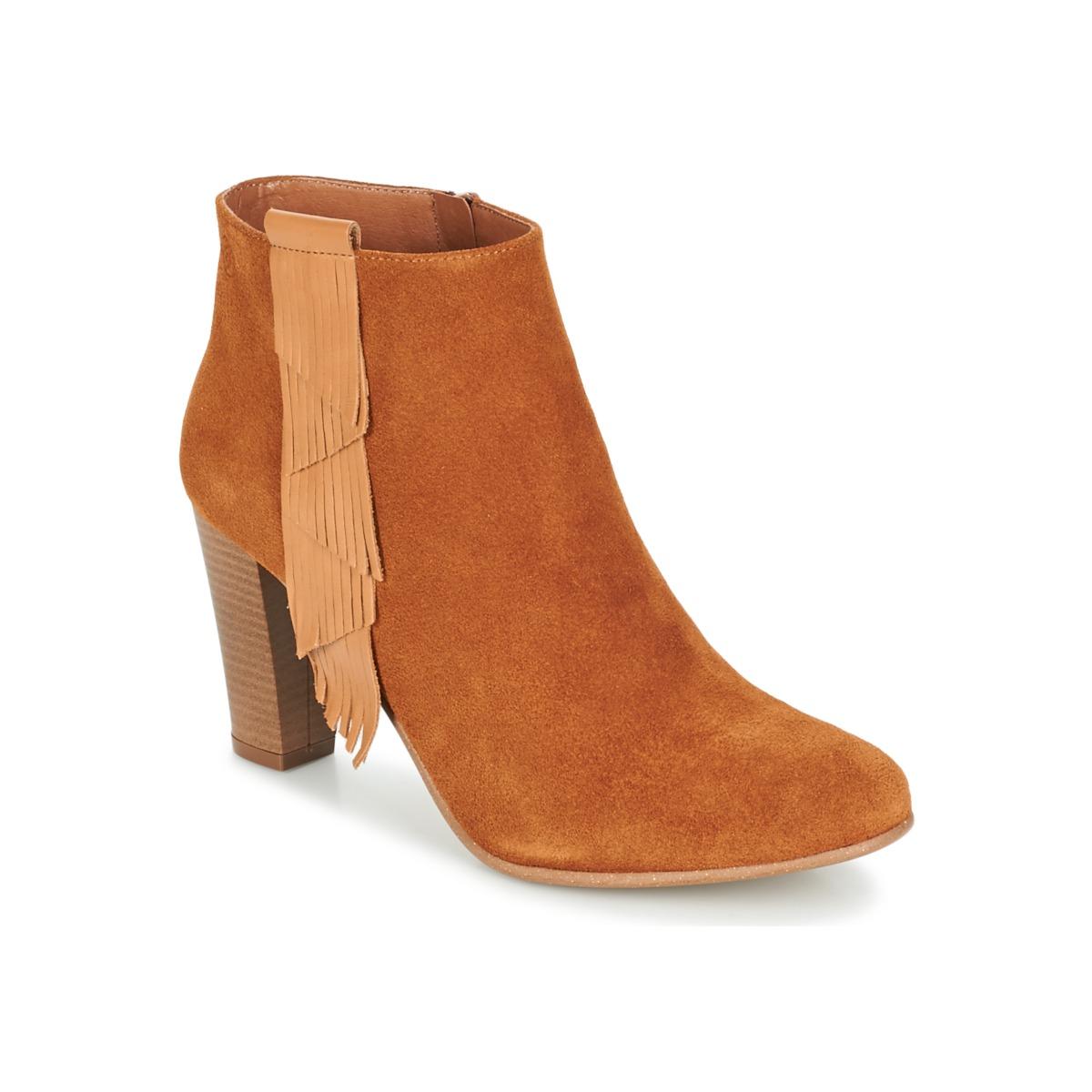 Betty London GAMI Camel - Kostenloser Versand bei Spartoode ! - Schuhe Low Boots Damen 47,50 €