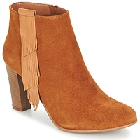 Schuhe Damen Low Boots Betty London GAMI Camel