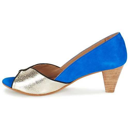 Betty London Schuhe GABYN Blau / Gold  Schuhe London Pumps Damen 63,99 350254
