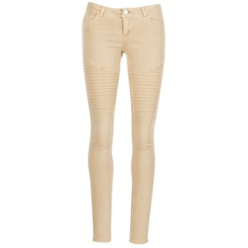 Kleidung Damen 5-Pocket-Hosen Noisy May EVE Beige