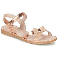 Schuhe Mädchen Sandalen / Sandaletten Citrouille et Compagnie GOGOGATO Bronze