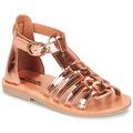Schuhe Mädchen Sandalen / Sandaletten Citrouille et Compagnie JASMA Kupfer