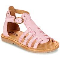 Schuhe Mädchen Sandalen / Sandaletten Citrouille et Compagnie JASMA Rose