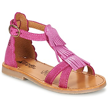 Schuhe Mädchen Sandalen / Sandaletten Citrouille et Compagnie GAMELA Rose
