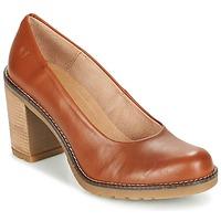Schuhe Damen Pumps Casual Attitude GEAL Camel