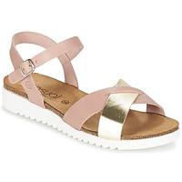 Schuhe Damen Sandalen / Sandaletten Casual Attitude GIFA Rose / Goldfarben