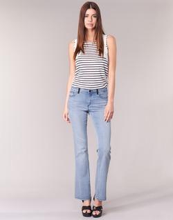 Kleidung Damen Bootcut Jeans Naf Naf GALY Blau