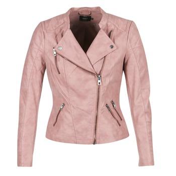 Kleidung Damen Lederjacken / Kunstlederjacken Only AVA Rose