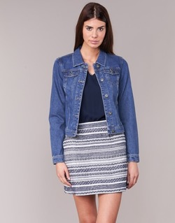 Kleidung Damen Jeansjacken Only DARCY Blau