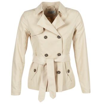 Kleidung Damen Trenchcoats Only MARIA SHORT Beige
