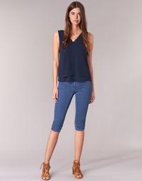Kleidung Damen 3/4 Hosen & 7/8 Hosen Only RAIN KNICKERS Blau