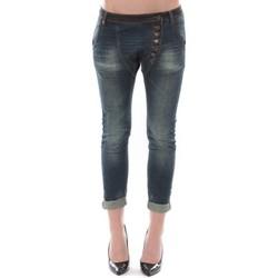 Kleidung Damen 3/4 & 7/8 Jeans Dress Code Jean Remixx Bleu Brut RX862 Blau