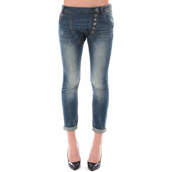 Kleidung Damen 3/4 & 7/8 Jeans Dress Code Jean Remixx Bleu Delavé RX860 Blau