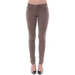 Kleidung Damen Slim Fit Jeans Dress Code Jean Remixx Beige RX803 Beige