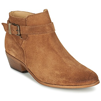 Schuhe Damen Ankle Boots Betty London GAFFA Camel