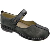 Schuhe Damen Ballerinas Calzaturificio Loren LOM2626gr grigio