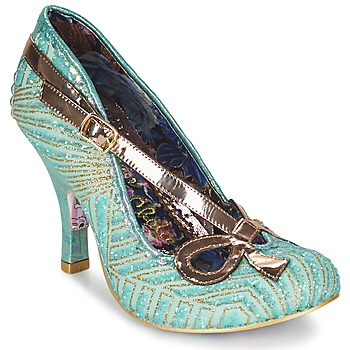 Schuhe Damen Pumps Irregular Choice BUBBLES Grün / Minze