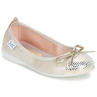 Schuhe Mädchen Ballerinas Citrouille et Compagnie GRAGON Beige