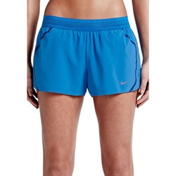 Kleidung Damen Jogginghosen Nike Aeroswift Short Women Blau