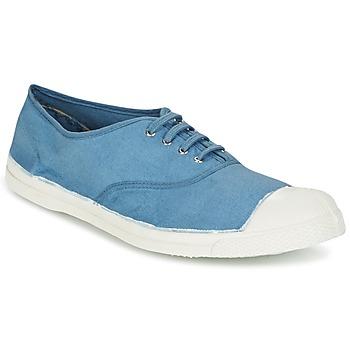 Schuhe Herren Sneaker Low Bensimon TENNIS LACET Blau