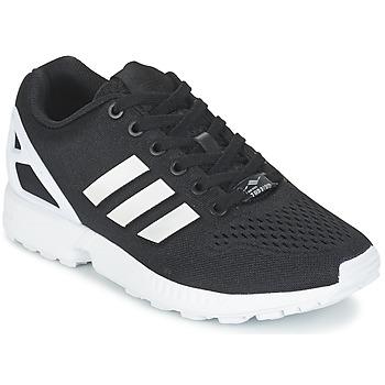 Schuhe Sneaker Low adidas Originals ZX FLUX EM Schwarz