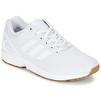 Schuhe Herren Sneaker Low adidas Originals ZX FLUX Weiss