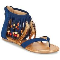 Schuhe Damen Sandalen / Sandaletten Moony Mood GETOULA Blau