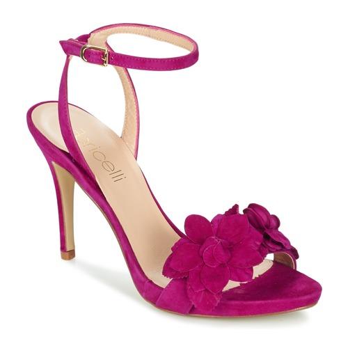 Fericelli GLAM Violett  Schuhe Sandalen / Sandaletten Damen 103,20