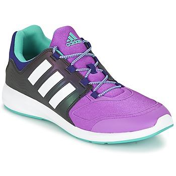 Schuhe Kinder Sneaker Low adidas Originals S-FLEX K Schwarz / Violett