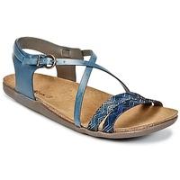 Schuhe Damen Sandalen / Sandaletten Kickers ATOMIUM Blau