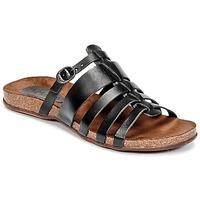 Schuhe Damen Sandalen / Sandaletten Kickers ANAELLE Schwarz