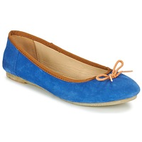 Schuhe Damen Ballerinas Kickers BAIE Blau / Orange