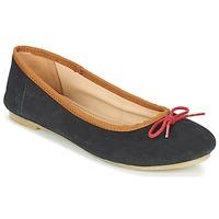 Schuhe Damen Ballerinas Kickers BAIE Schwarz / Rot
