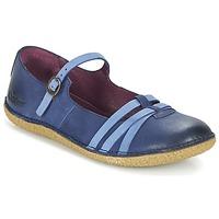 Schuhe Damen Ballerinas Kickers HIBOU Marine