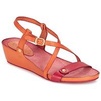 Schuhe Damen Sandalen / Sandaletten Kickers TASTE Orange / Rot