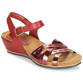 Schuhe Damen Sandalen / Sandaletten Kickers TOKANNE Rot