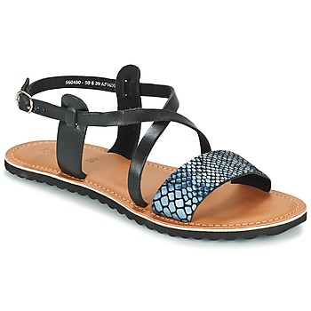 Schuhe Damen Sandalen / Sandaletten Kickers VIPA Schwarz
