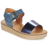 Schuhe Damen Sandalen / Sandaletten Kickers VICTORY Blau