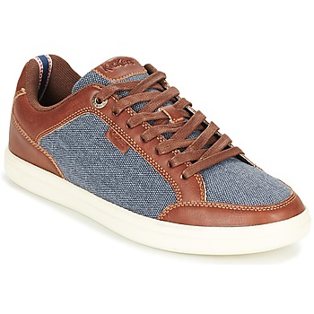 Schuhe Herren Sneaker Low Kickers AART HEMP Braun / Blau
