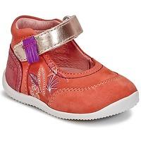 Schuhe Mädchen Ballerinas Kickers BIMAMBO Orange / Fuchsienrot / Rose