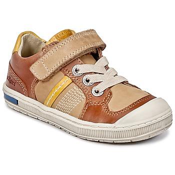 Schuhe Jungen Sneaker Low Kickers IGORLOW Camel