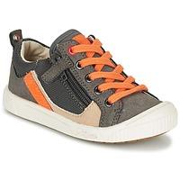 Schuhe Jungen Sneaker Low Kickers ZIGZAGUER Grau / Orange