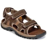 Schuhe Herren Sandalen / Sandaletten Caterpillar GILES Braun