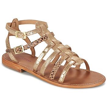 Schuhe Damen Sandalen / Sandaletten Les Tropéziennes par M Belarbi BAILLE Gold