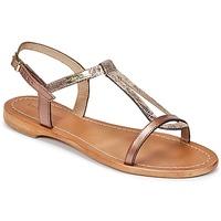 Schuhe Damen Sandalen / Sandaletten Les Tropéziennes par M Belarbi HAMAT Bronze